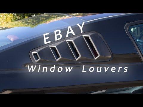 Are Ebay window louvers worth it?