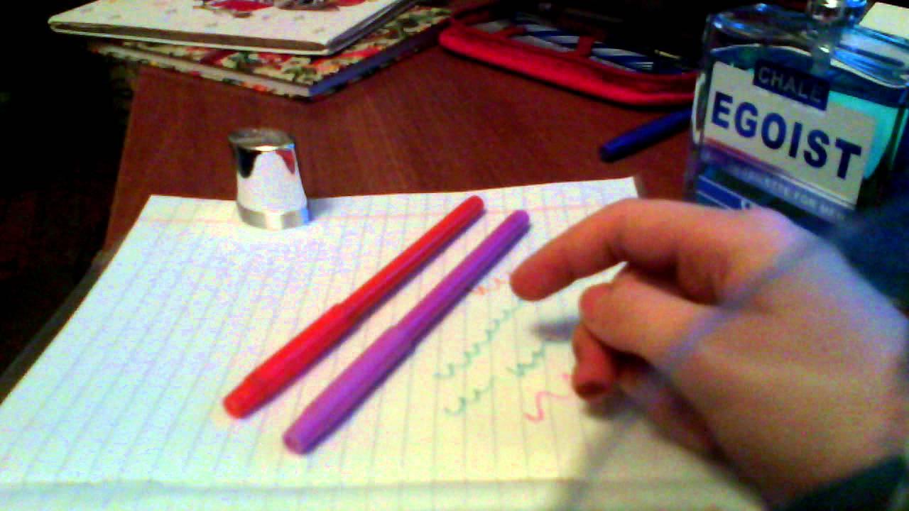 Как сделать так чтобы маркеры писали 543