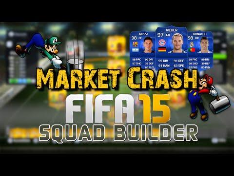 FIFA 15 Ultimate Team : Squad Builder - 10k TOTY Market Crash Hybrid ft. 2x 5* Skiller