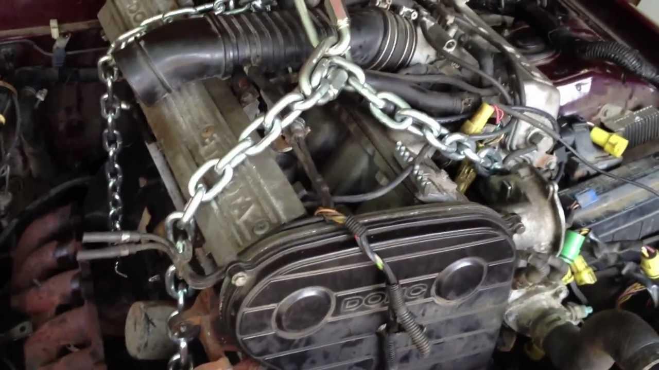 1985 Toyota Cressida engine pull - YouTube