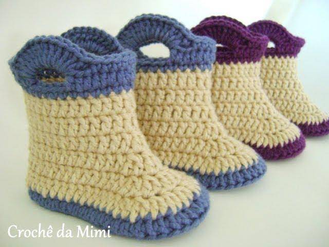 Como hacer calcetines o patucos de lana videos - Como hacer calcetines de lana ...