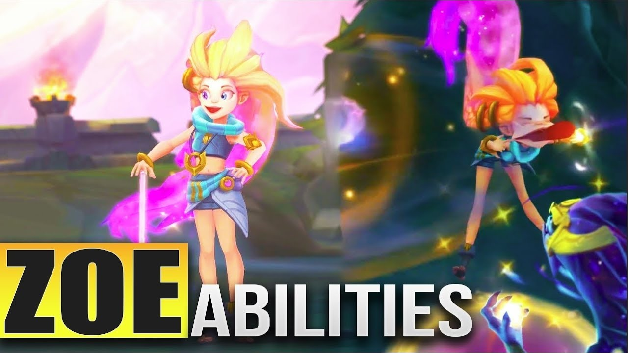 ZOE NEW CHAMPION Gameplay & Abilities Preview - League of Legends