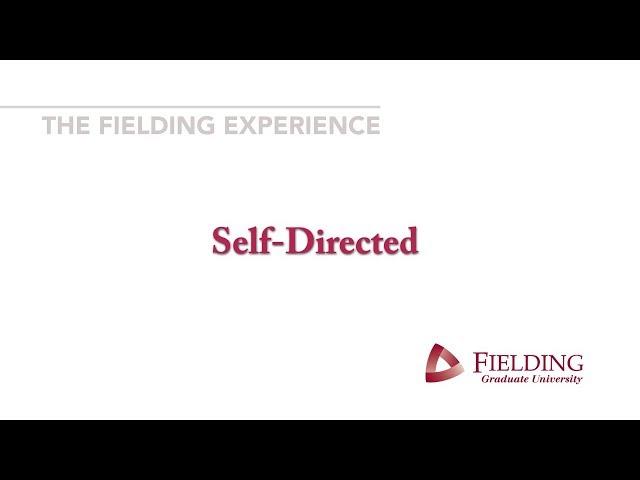 Fielding Graduate University - SelfDirected
