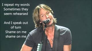 Watch Keith Urban Shame video
