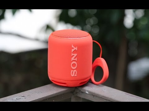 Sony SRS XB-10 Extra Bass Bluetooth Speaker In-depth Review