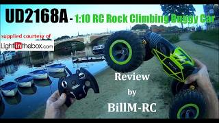 UD2168A  1:10 RC Rock Climbing Buggy Car review