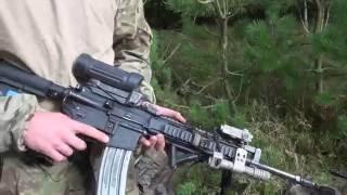 Sådan slører du våben og udrustning - how to camouflage rifle and gear (eng. subs)
