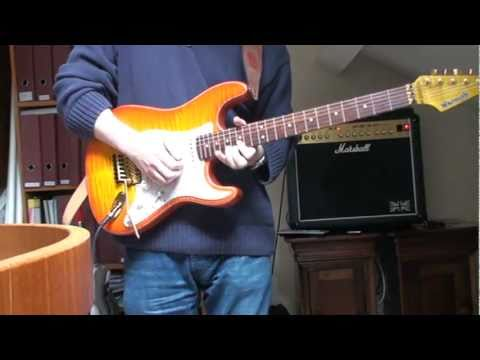 Floydrose - Blues Rock Improvisation