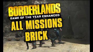 Borderlands Enhanced Speedrun All Missions (Brick) in 3:02:33