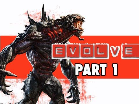 Evolve Gameplay Walkthrough Part 1 - Goliath Monster video