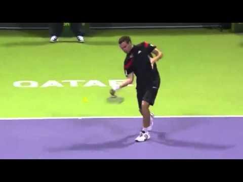 Rafael Nadal vs Ernest Gulbis - ATP Doha 2014 masters 250 Highlights
