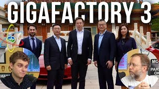 The New Tesla Gigafactory 3 in China - In Depth
