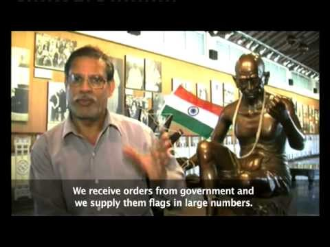 INDIAN FLAGS IN DEMAND AHEAD OF INDEPENDENCE DAY