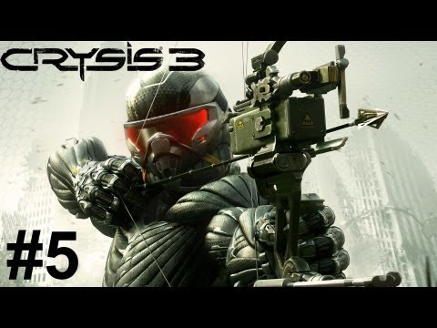 Crysis 3 Whole Game Part 5: Mission Red Star Rising - Gameplay Walkthrough 1080p GT 650M