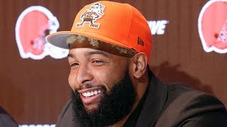Odell Beckham Jr.'s Intro Presser with the Cleveland Browns