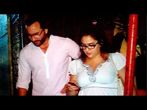 Baby's Day Out: Papa Saif Spotted With Daughter Sara video