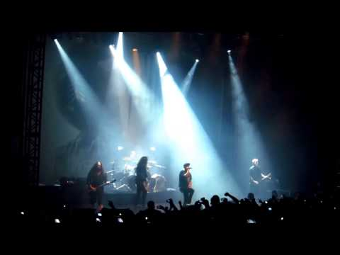 Cloud Connected - In Flames live @ Mexico City 2013 HD