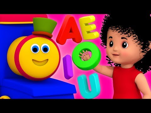 Vowels Songs | Learning Street With Bob The Train | Kids Show | Videos For Toddlers by Kids Tv