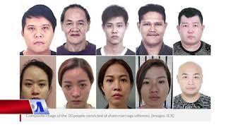 Phá vỡ đường dây cưới giả Việt–Singapore