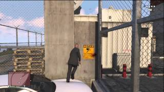 GTA 5 SECRET WALL TO JUMP INTO THE MILITARY BASE! ONLINE!! (HOW TO GET IN THE MILITARY BASE)