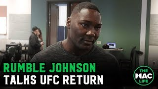 "Anthony 'Rumble' Johnson eyeing June/July return: ""I want to come back and just hurt people"""