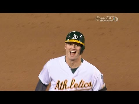 A's win on Donaldson's three-run jack
