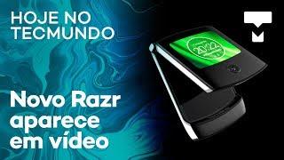 Moto Razr dobrável em vídeo, Galaxy S10 vendendo bem no Brasil e mais - Hoje no TecMundo