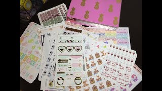 Stickers I bought but don't use... and the reasons why!