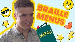 The kid who makes menus for blind people | Kidskind