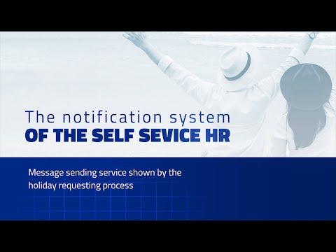 PIRAMIS SELF SERVICE HR Notification system