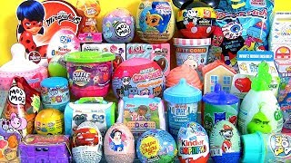 35 Surprise Eggs, Peppa Pig, LOL dolls, The Grinch, My Little Pony toys