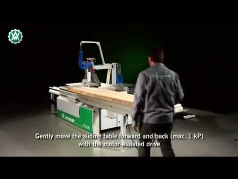 Wood Ripping using the Altendorf F45 Panel Saw