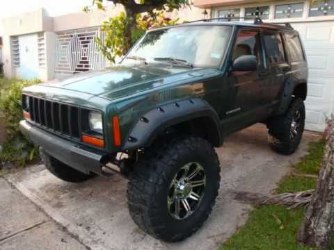 Jeep Cherokee XJ 2000 transformation part 1 it continued