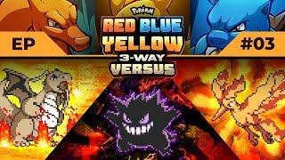 I'M SICK OF YOU! | Pokemon Red / Blue / Yellow #3WayVersus EP03