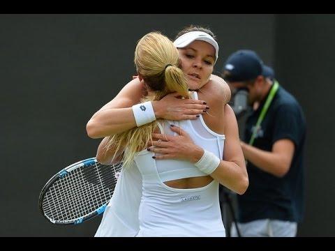 [HD] Dominika Cibulkova vs Agnieszka Radwanska Wimbledon 2016 Highlights