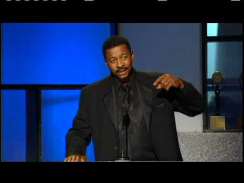 Robert Townsend inducts The Dells Rock and Roll Hall of Fame inductions 2004