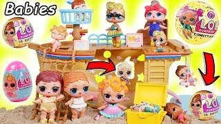 LOL Surprise Doll Lil Luxe Confetti Pop Spin Series 3 Baby + Babysits Lil Sisters Happy Blind Bags!