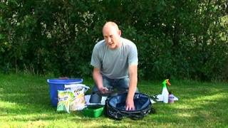 Choosing groundbait, mixing groundbait and fishing with groundbait