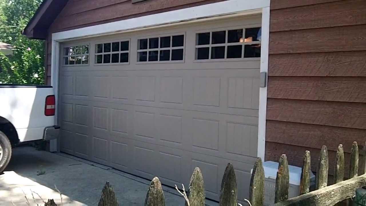 A clopay gallery garage door we installed in westmont il for Lodi garage doors and more in phoenix az