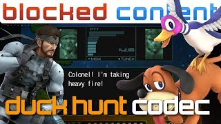 DUCK HUNT vs Snake CODEC CALL Conversation (Super Smash Bros. Ultimate)