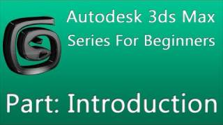 3ds Max Series For Beginners