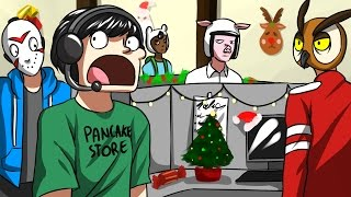 GMOD NEW YEARS OFFICE PARTY! - Garry's Mod Guess Who Funny Moments