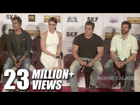 Bajrangi Bhaijaan Movie 2015 (HD) Promotions | Salman Khan, Kareena Kapoor | Trailer & Music Launch