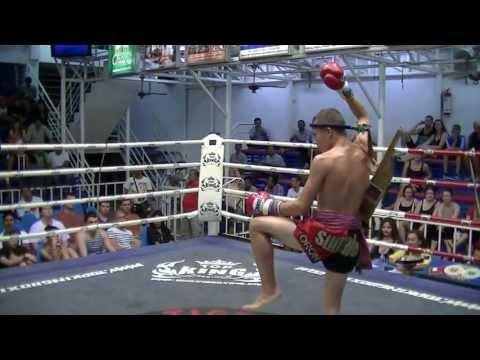 "Jordan ""Deachkalek"" Sumalee VS Khao Sod Dragon Muay Thai, Bangla Boxing Stadium, 10th July 2013"