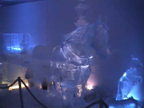 Frozen in Time - Ice Sculptures