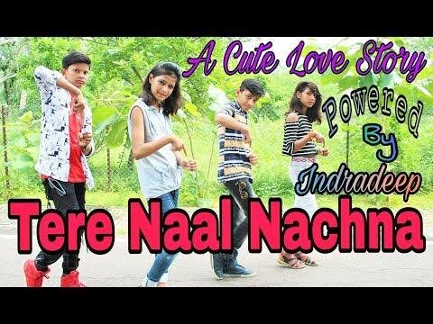 Download Lagu  TERE NAAL NACHNA | A Cute Love Story | Powered By Indradeep | Badshah, Sunanda S | Nawabzaade Mp3 Free