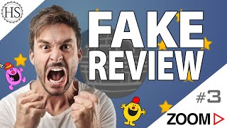 Fake Reviews ou la guerre des étoiles ⭐️ ! Zoom#3