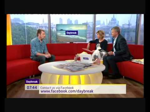 Jai McDowall - First post  Britain's Got Talent interview - Daybreak (full version)