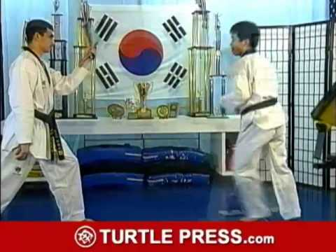 Taekwondo How to do Spinning Whip Kick