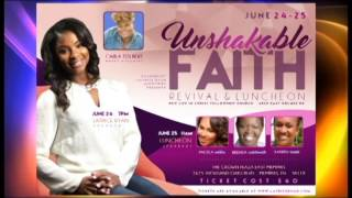 Evangelist Latrice Ryan UnshakableFAITH 2016 Commerical